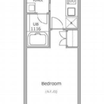 一般的な一人暮らしのお部屋