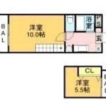 全部で15帖の居住スペース!!