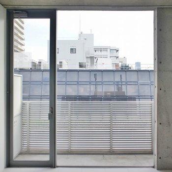 開放感◎(※写真は10階の同間取り別部屋のものです)