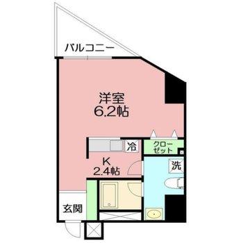 7階のお部屋です