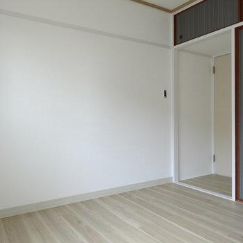 寝室にピッタリな広さ◎(※写真は工事前のものです)