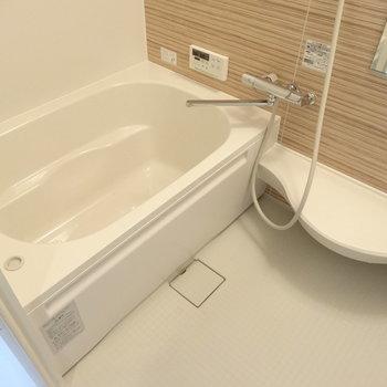 お風呂も広〜いキレイ!洗い場もしっかり◎(※写真は工事前のものです)