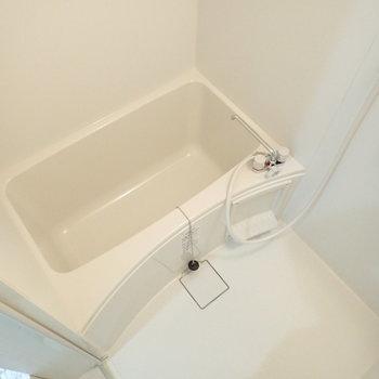 お風呂は1人暮らし向きなタイプ。