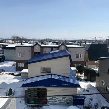 眺望はこちら。住宅街!眺望は別部屋のものです