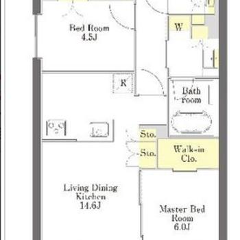 お部屋の数よりも収納の数に注目。