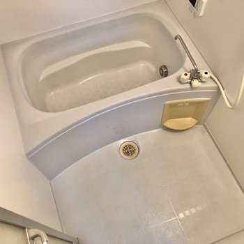 洗い場スペースもゆったりですね~。