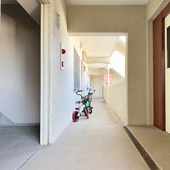 周りのお部屋もファミリーな雰囲気。