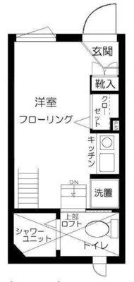 ファーストハウス北新宿 の間取り