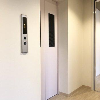 エレベーターもありますよ。