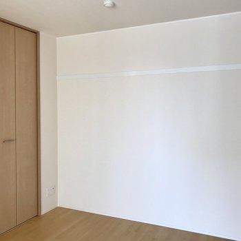 【bedroom】クローゼットを見てみましょう。※写真は3階の同間取り別部屋のものです