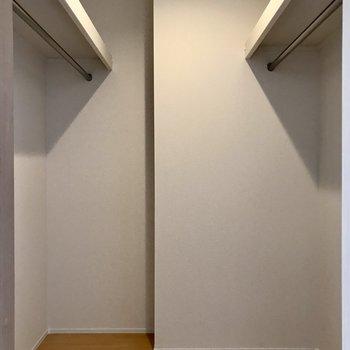 【bedroom】たくさん収納できます。※写真は3階の同間取り別部屋のものです