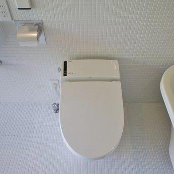 トイレはこんな感じ。