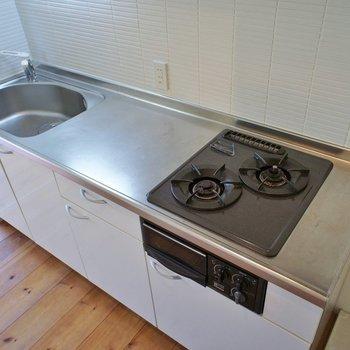 調理スペースもしっかりです。
