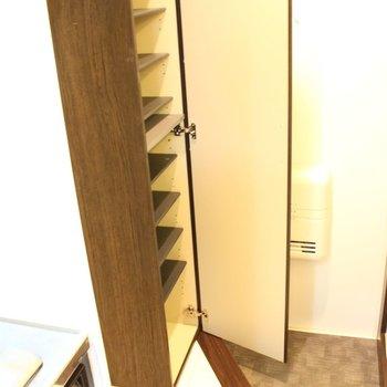 靴、たくさん入ります。※写真は1階同間取り別部屋のものです