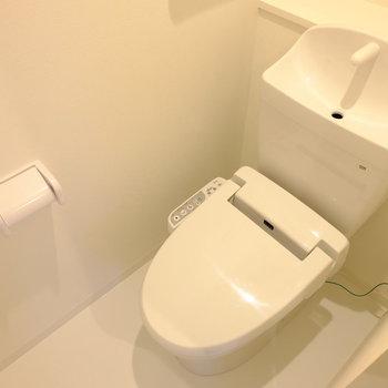 トイレも新品!!
