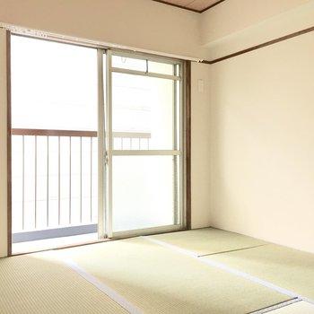 ここが4.5帖の和室。