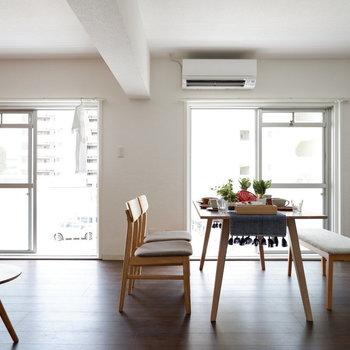 風通しもとても良いですよ。※写真は2階反転間取りの別部屋のものです