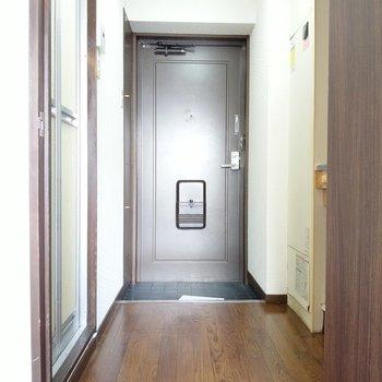廊下がしっかりあるので、出入りはしやすいです。