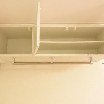 天井の空間を無駄にしない収納!(※写真は3階の同間取り別部屋のものです)