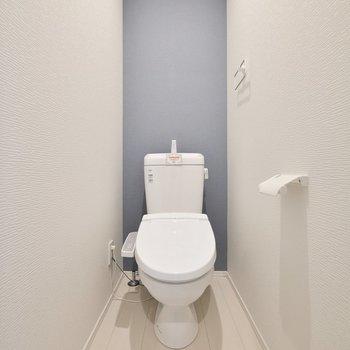 トイレは完全に分けられています。※写真は3階の反転間取り別部屋のものです