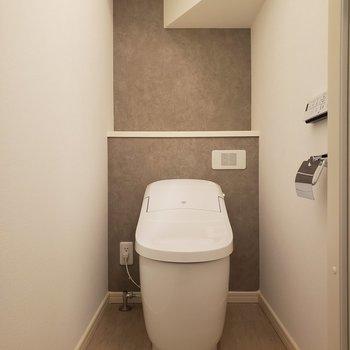 トイレは落ち着いた空間。