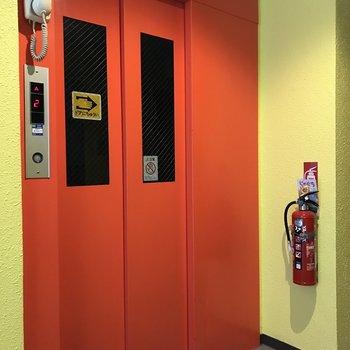 エレベーターが嬉しい◎