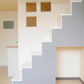 インテリアな階段