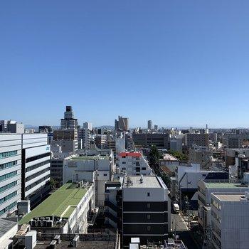 こちらは東側の眺望。