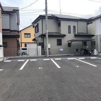 駐車場もありますね