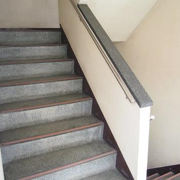 階段もしっかりと