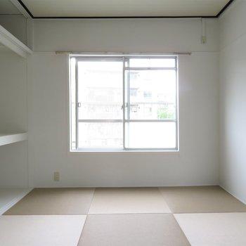 奥には和室です。落ち着いていますね