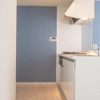 キッチンのスペースもゆとりあり。