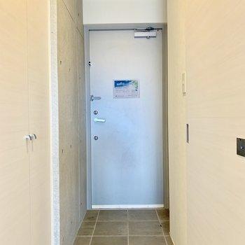 玄関も大きいので靴も脱ぎやすい※写真は前回募集時のものです