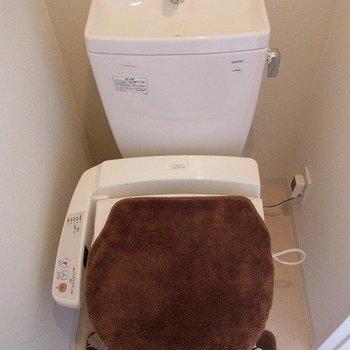 お手洗い。※写真は3階の同間取り別部屋のものです