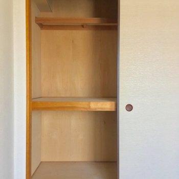 モチロン押入れ!大容量です〜※写真は11階の同間取り別部屋のものです