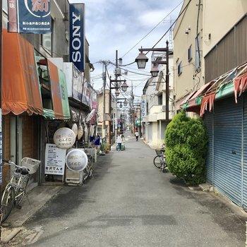 お部屋〜新小金井の街並み。(タイプでした…)