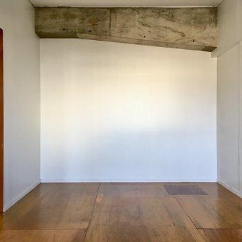 このスペースは寝室に良さそうだな。
