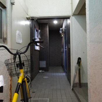 1階は2部屋のみです。