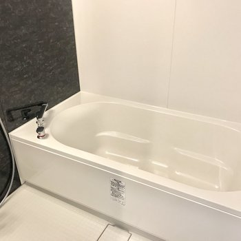 お風呂はちょっと広め、リラックスタイムが楽しみだ!
