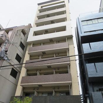 しっかりとした鉄筋コンクリートのマンション