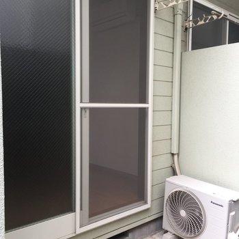 洗濯物は割とたくさん干せそうです
