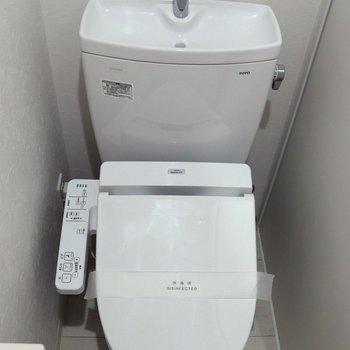 落ち着ける個室トイレ※ 写真は前回募集時のものです