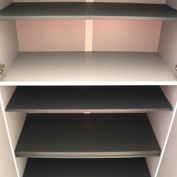 天井まであるシューズボックス※ 写真は前回募集時のものです