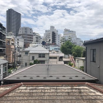 お部屋からは東京の風景