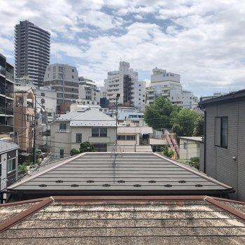お部屋からは東京の風景※写真は4階の同間取り別部屋のものです