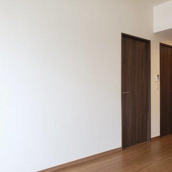 モニター画面の横の扉は・・・(※写真は2階の反転間取り別部屋のものです)