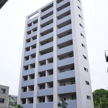 11階建ての、最上階にある、お部屋です。