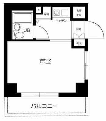 ライオンズマンション横浜第三 の間取り