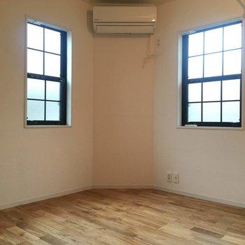 2面に窓があると明るいですね〜!※写真は前回募集時のものです