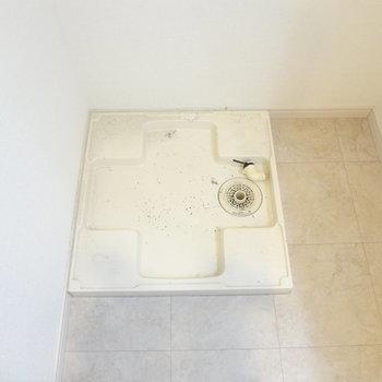 洗濯パンもありますよ。(※写真は7階の同間取り別部屋のものです)